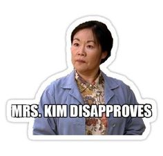 Mama Kim Sticker