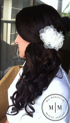 side hairstyle for homecoming?