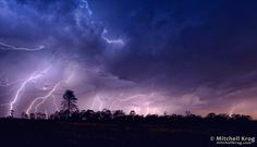 Lightning Strike Show over the Magaliesburg by Mitchell Krog on 500px