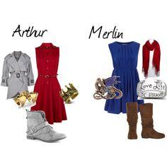 """Arthur And Merlin"" by sobukhov on Polyvore"