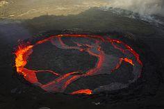 Volcano!  http://www.flickr.com/photos/volcanoes/3481450932/