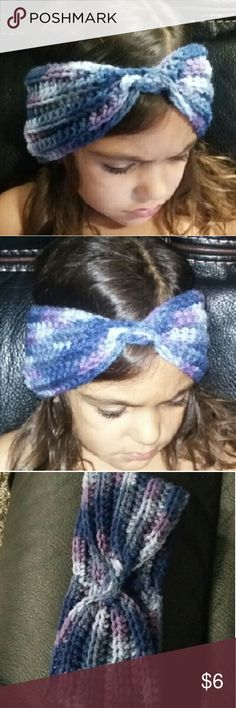 Handmade MiltiColor Turban Fits 4 year - 9 year old Accessories Hats