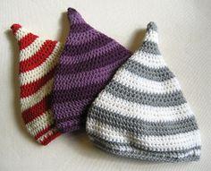 Otava: Otava Baby Sprite Hat Pattern ~ free pattern
