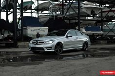 All Cars NZ: 2013 Mercedes Benz C-250 Coupe by Vossen Wheels