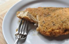 Oven Fried Chicken   (great for when youre craving comfort food) (instead of bread crumbs you can use rolled oats)
