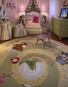 Wizard of Oz bed room, this might be the best girls bedroom I have ever seen!