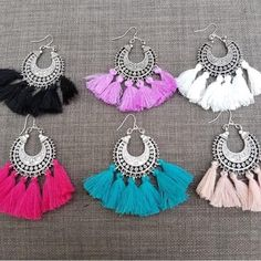 Jane.com - Laura Michelle Boho Tassel Earrings - AdoreWe.com