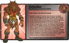 FIC Gbagok's Unofficial Character Bios - Page 7