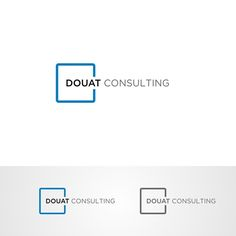 DOUAT Consulting 鈥?20Family owned traditional consulting financial firm wants to modernize its brand.