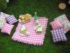 Fairy Picnic Fairy Garden Accessories Fairy Bottle Cake Sandwiches Cushions Food
