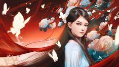 Chinese Cartoon, Anime, Animation, Japanese, Disney Princess, Traditional, Fantasy Characters, Girls, Japanese Language