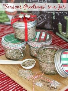 Delicious Homemade GF Holiday Gifts in a Jar - The Nourishing Home