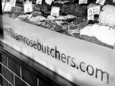 There are Londoners and then there are Londoners. William Rose Butchers is one of the former having set up shop in 1862 in inner city Vauxhall. Since 2005 however home has been East Dulwich, where. London Food, Larder, Food Diary, Writer, Let It Be, City, Rose, Business, Shop