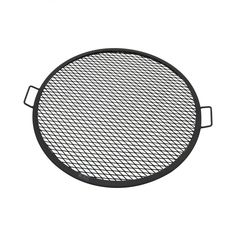 This heavy-duty round mesh steel fire pit cooking grate and is perfect for camping and more. Designed with a durable metal construction, this cooking grate is perfect for cooking over the open fire. Fire Pit Grate, Steel Fire Pit, Fire Pits, Fire Pit Cooking Grill, Cooking On The Grill, Fire Grill, Camping Cooking, Bbq Grates, Fire Pit Poker