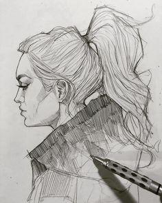 "9,462 Me gusta, 43 comentarios - Efraín Malo (@maloart) en Instagram: ""✍️ #sketching #mechanicalpencil #graphgear1000"""
