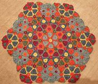 Ravelry: Kaleidoscope Crochet Blanket Club - March 2014 pattern by Amanda Perkins