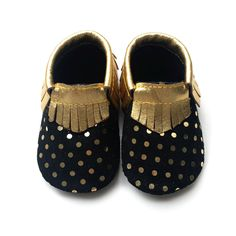 >> Click to Buy << 2016 New Gold Polka Dot Genuine Leather Baby Moccasins Shoes Baby Girls Boys Shoes Newborn First Walkers toddler Bebe Shoes #Affiliate