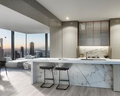 Brand Marketing Design in Melbourne Luxury Penthouse, Luxury Apartments, Luxury Homes, Apartamento New York, Home Room Design, House Design, Grand Homes, Dream Apartment, House Rooms