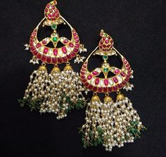 Earrings.. But without t pearl part