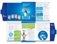Diseño publicitario/editorial - Stop Diseño Gráfico - Diseño de Fólder kit Mi Paciente Fitness - Cereal Partners Worldwide - Nestlé México.