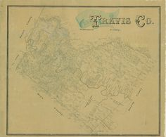 This comprehensive map of Travis County was compiled and drawn by Herman Pressler, the son of notable nineteenth century Texas mapmaker and…