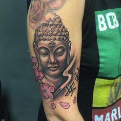 f25321f1c Buddha Tattoo Design for Forearm Buddha Tattoo Design, Buddha Tattoos,  Goddess Tattoo, Tattoo