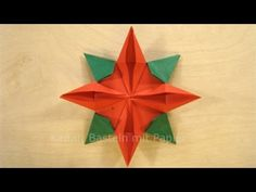 Weihnachtssterne Basteln - Sterne basteln für Weihnachten