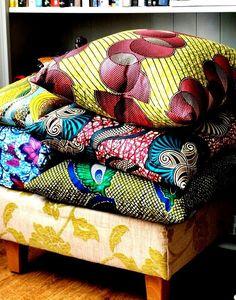 handmade batik pillows....