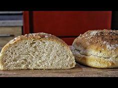 Πως να φτιάξετε το πιο Εύκολο & Αφράτο Ψωμί - How to make amazing Homemade Bread - YouTube Greek Recipes, Vintage Tea, Deli, Sandwiches, Yummy Food, Bread, Homemade, Snacks, Cooking