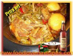 BRISKET BOONTJIE BREDIE Brisket, Fudge, Stew, Chicken, Meat, Afrikaans, Recipes, Lovers, Food