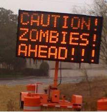 Walking Dead, anyone?  Walking Dead, anyone?  Walking Dead, anyone?