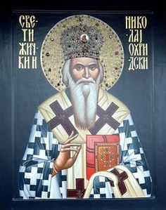 Nikolai of Žiča and Ohrid Holly Pictures, Saint Nicholas, Orthodox Icons, Saints, Prayers, Bible, Statue, Baseball Cards, Gallery