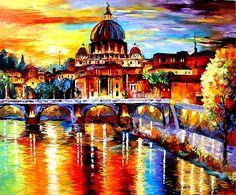 Daniel Wall - Intense Impressionism- Glorious Rome