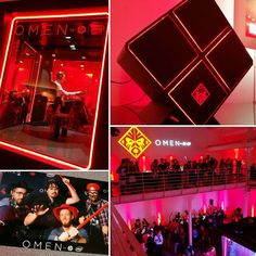 Soirée @HP_France qui lance sa gamme de PC gaming ! #dominatewithOMEN #Omen #party #PC #gaming #videogames #jeuxvideo