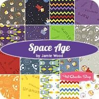 Space Age Fat Quarter BundleJamie Wood for Clothworks Fabrics