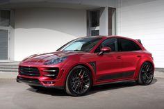 Porsche Macan URSA, RED. / TopCar