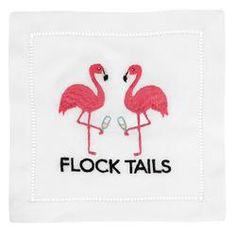 Products – Waiting On Martha Flamingo Puns, Pink Flamingo Party, Flamingo Gifts, Pink Flamingos, Flamingo Painting, Flamingo Art, Custom Gift Boxes, Customized Gifts, Cocktail Napkins