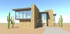 Modern Home Plan with Views - 44087TD   1st Floor Master Suite, Beach, Butler…