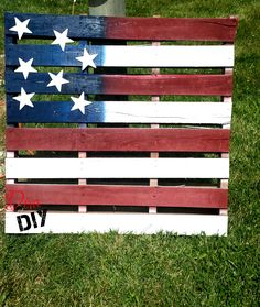 American Flag Pallet Project