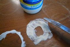 Use mayonnaise to erase water stains from wooden furniture.