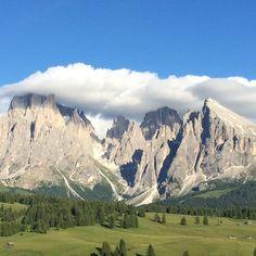 #alpedisuisi #seiseralm #adlermountainlodge // Alpe Di Siusi - Val Gardena // Marleen Brekelmans - @bijzonderplekje // 12-07-2014