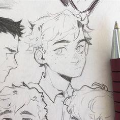 Cartoon Art Styles, Cute Art Styles, Art Drawings Sketches, Cute Drawings, Cartoon Drawings, Arte Sketchbook, Art Japonais, Art Reference Poses, Anime Sketch