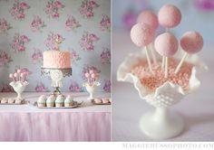 ballerina party cake and treats