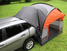 The Rightline Gear SUV Tent lets you sleep off the ground in the comfort of your own vehicle. The tent connects to the back of any size SUV minivan wagon ... & Pontiac Aztek Camping Package -- the toyotaplace   Road Camping ...