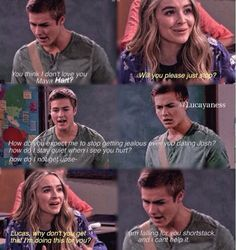 girl meets world lucas and maya fanfiction rated m Wingmen are the worst {rilaya fanfic} {friendly anon asked to see one where riley and maya meet for the first time} maya stood by her locker nervously as she stared at the beautiful brunette girl.