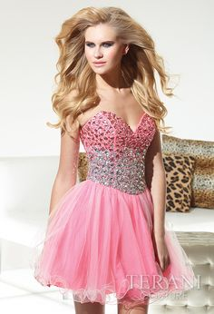 Terani Couture Homecoming Dress Style H1945 - Formal Bliss ...