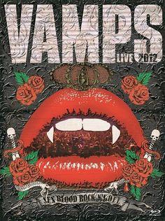 VAMPS LIVE 2012 #VAMPS #HYDE #KAZ #JAPANESE #MUSIC #ART #VAMPSLIVE