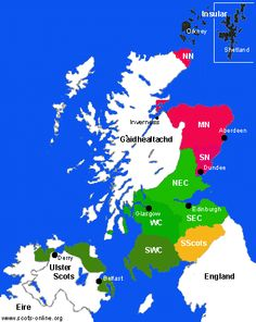 Wir Ain Leed - The Pronunciation of Scots Dialects