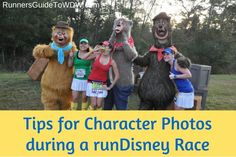 Tips for character photos during a runDisney race! http://www.runnersguidetowdw.com/tips-character-photos-rundisney-race/