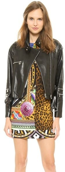 Versace Leather Jacket